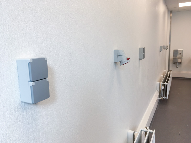 hygienic and durable wall finishing