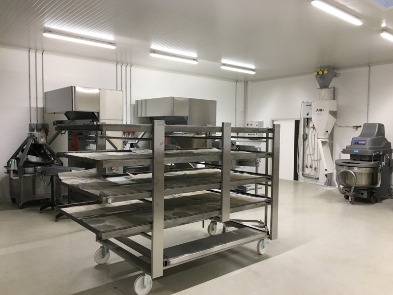 production area bakery