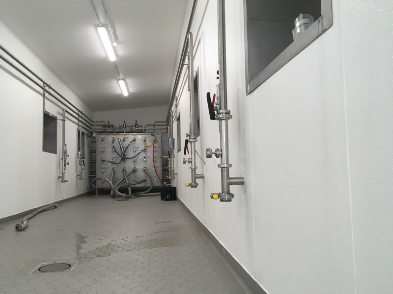 brewery production facility